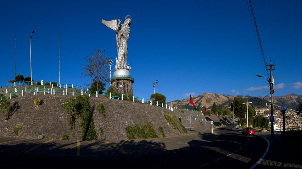 Quito - Virgen del Panecillo
