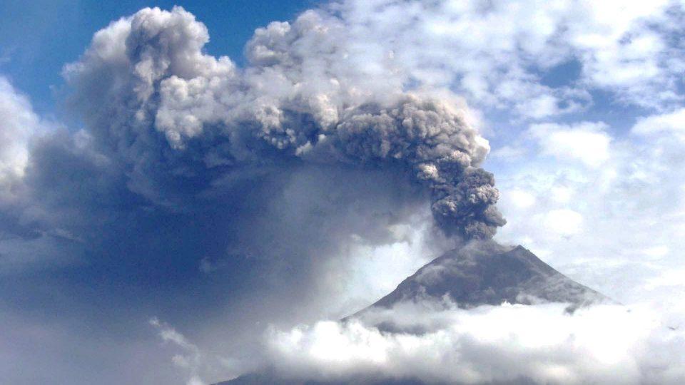 Tungurahua - Volcán