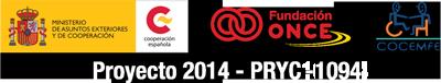 AECID - Fundación ONCE - COCEMFE Proyecto 2014 - PRYC2014